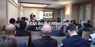 VIDEO: Statistics, Workforce Development Drive Discussion at AEM Board Meeting