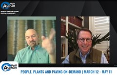 NAPA and AEM Hold Successful World of Asphalt 'People, Plants, and Paving Digital Conference'