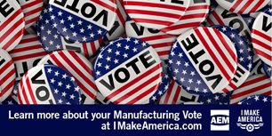 Manufacturing Voters Must Speak with One Voice