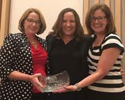 AEM/s Megan Tanel receives exhibtions industry Woman of Achievement Award