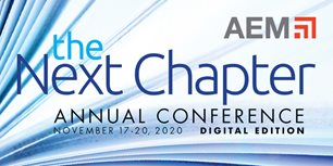 Join Us for AEM's Annual Conference: The Next Chapter, Digital Edition