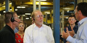 Congressman Loebsack Headlines I Make America Event at Vermeer