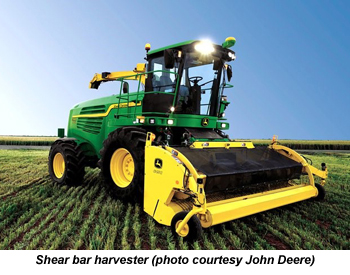Self-propelled forage harvesters were first reported in the Brazil market in December.