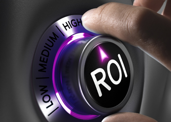 We can measure trade show ROI