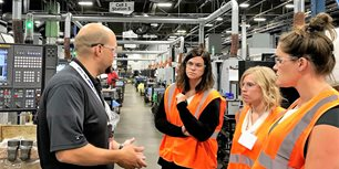 AEM Staff Tours Weasler Engineering's Revamped Wisconsin Manufacturing Plant