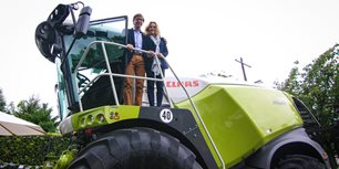 German Ambassador Welcomes CLAAS to EU Open House, German Embassy