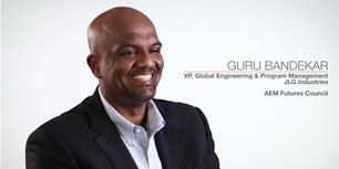 VIDEO: JLG Industries' Guru Bandekar Talks CONEXPO-CON/AGG, AEM Involvement
