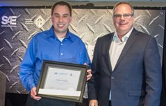 Volvo CE's Stephen Lanahan Named SAE/AEM Outstanding Young Engineer