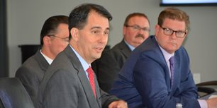 Gov. Scott Walker Meets with AEM Members at Milwaukee HQ