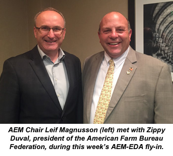 AEM-EDA fly-in supports a strong farm economy