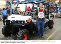 AEM's I Make America and Doosan Bobcat Partner to Recognize Equipment Manufacturing Industry Employee