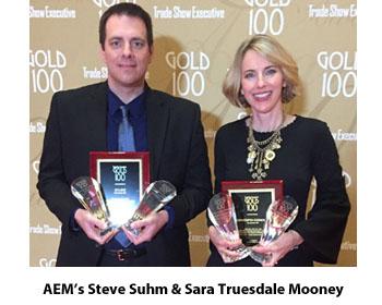 AEM Wins Gold 100 Trade Show Awards