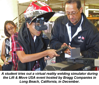 Lift & Move event at Bragg Companies