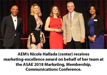 AEM at ASAE Gold Circle Awards Ceremony