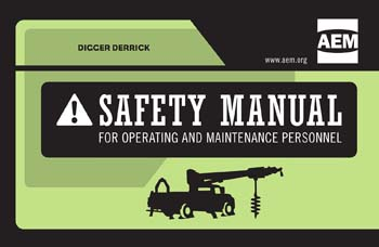 AEM Updated Digger Derrick Safety Manual