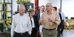 Sen. Johnson Visits HUSCO to Highlight Importance of Manufacturing
