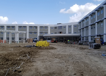 Construction is underway on the IUOE Training and Conference Center.