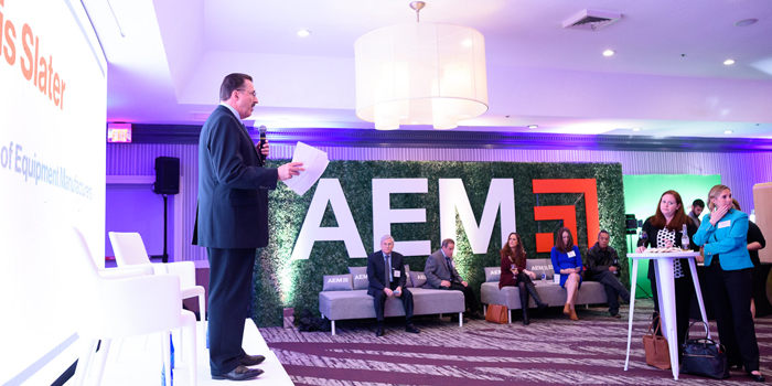 AEM Kicks Off Infrastructure Week with Reception