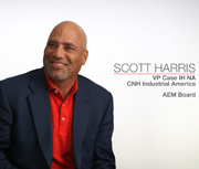 CASE IH's Scott Harris Discusses Being an AEM Board Member, Association's Industry Role