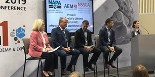 AEM Co-Hosts Panel on Infrastructure and Workforce Development at World of Asphalt 2019