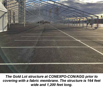 CECA Gold Lot fabric structure