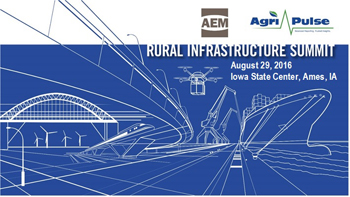 Rural Infrastructure Summit set for August 29