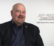 VIDEO: Reed International's Jeff Reed Talks Management Style, AEM Involvement