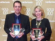 AEM Wins Top 'Gold 100' Trade Show Honors for CONEXPO-CON/AGG and ICUEE-The Demo Expo