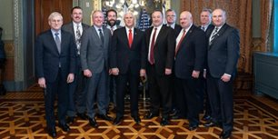 AEM Brings Advocacy Message to the White House
