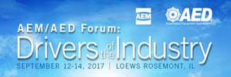 AEM/AED Forum: Equipment Manufacturer, Distributor Guide to 'What's Next'