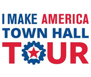 AEM Launches I Make America Town Hall Tour