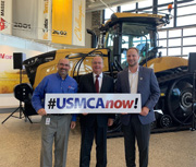 Congressman Hagedorn Visits AGCO for I Make America Event
