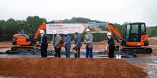 Gov. Kemp Joins Kubota for Gainesville, Georgia Facility Groundbreaking
