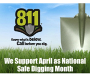 Spread the Word: Dial 811 Before Digging