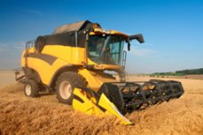 Self-Propelled Combine Sales Increased Significantly in January, According to AEM